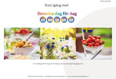 Snabbguide svenskadagfordagdigital.se
